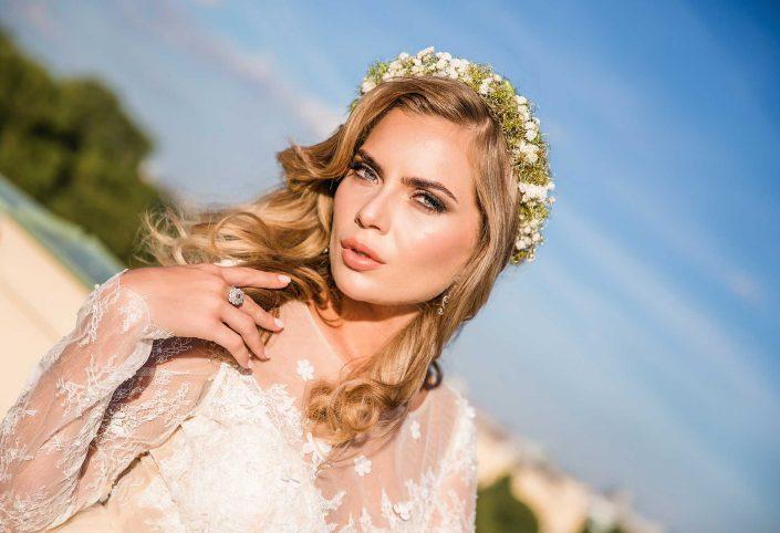 Brautschau beim Hochzeitsshooting